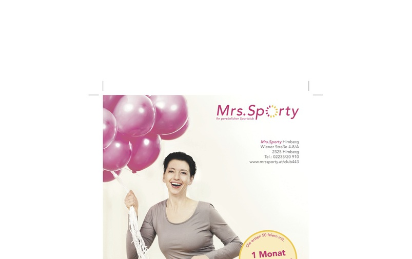 2 Jahre Mrs.Sporty in Himberg